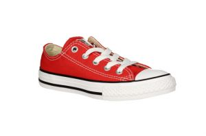 BLUCHER ALL STAR LONA ROJO